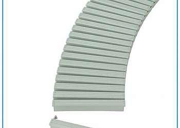 Grelha plástica flexível