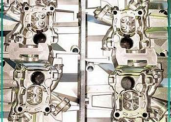 Moldes de injeção termoplástica convencional